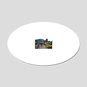 MeninKilts 20x12 Oval Wall Decal