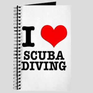 I Heart (Love) Scuba Diving Journal