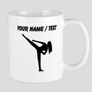 Custom Karate Silhouette Mugs