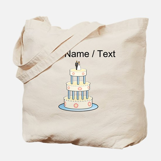 Custom Wedding Cake Tote Bag