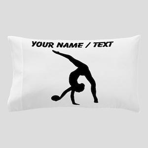 Custom Rhythmic Gymnastics Silhouette Pillow Case