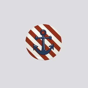 ANCHORS AWEIGH Mini Button