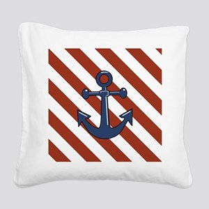 ANCHORS AWEIGH Square Canvas Pillow