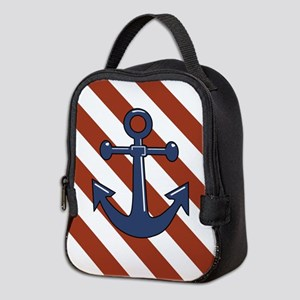 ANCHORS AWEIGH Neoprene Lunch Bag