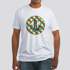 ANCHORS AWEIGH Fitted T-Shirt