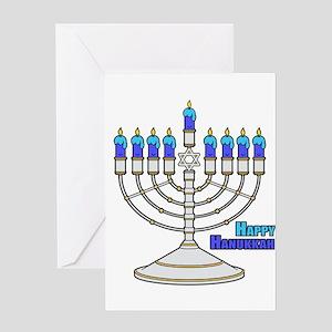 Hanukkah greeting cards cafepress happy hanukkah greeting cards m4hsunfo