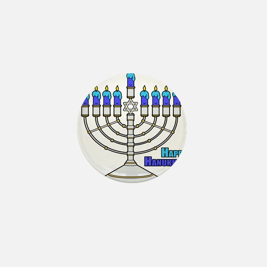 Happy Hanukkah Mini Button