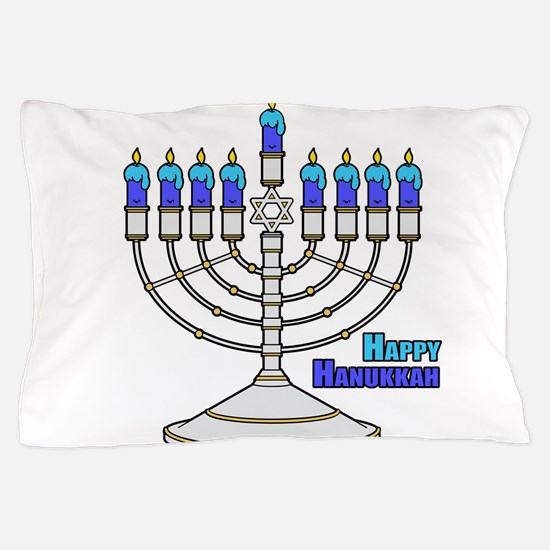 Happy Hanukkah Pillow Case
