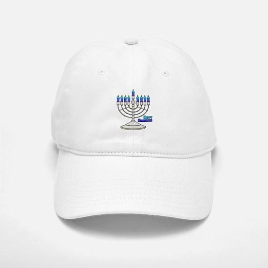 Happy Hanukkah Baseball Baseball Baseball Cap