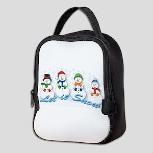 Let it Snow Neoprene Lunch Bag