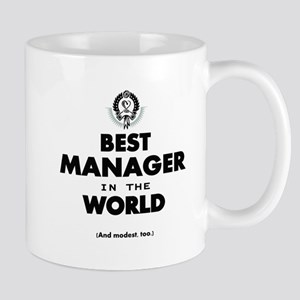 The Best in the World Best Manager Mugs