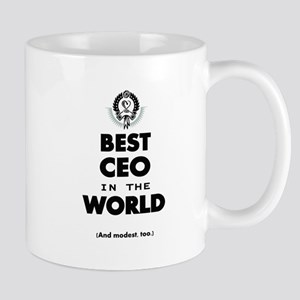 The Best in the World Best CEO Mugs