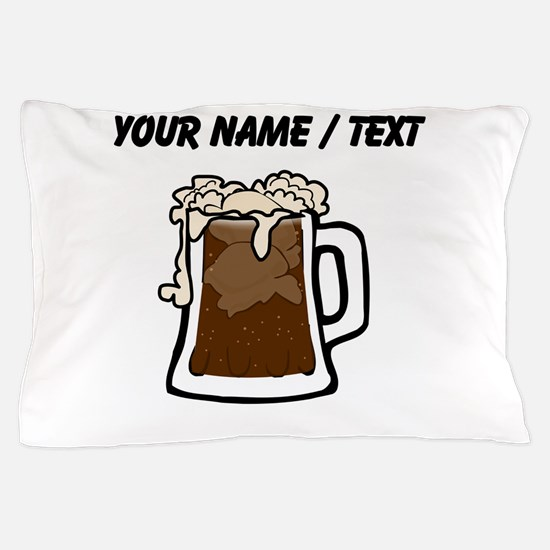 Custom Root Beer Float Pillow Case