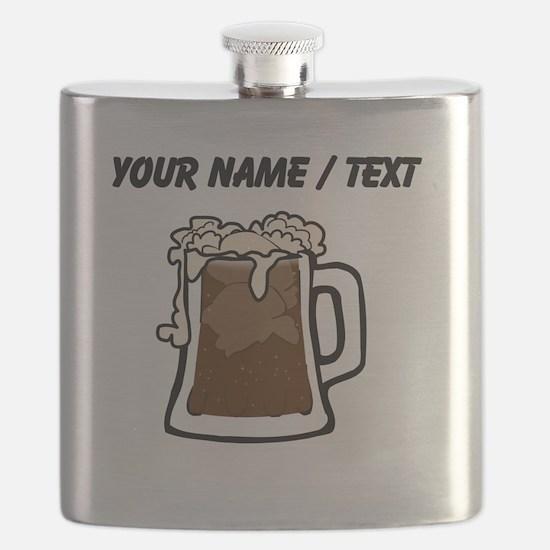Custom Root Beer Float Flask