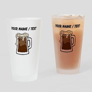 Custom Root Beer Float Drinking Glass