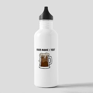 Custom Root Beer Float Sports Water Bottle