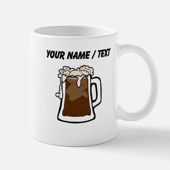 Custom Root Beer Float Mugs