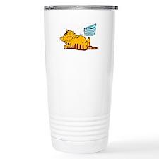 cartoon-fat-cat Stainless Steel Travel Mug
