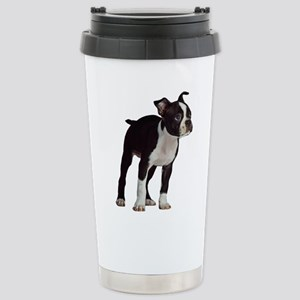 Boston Terrier Stainless Steel Travel Mug