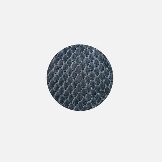 Snake skin Mini Button