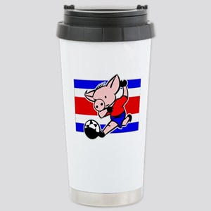 costa-rica-soccer-pig Stainless Steel Travel M