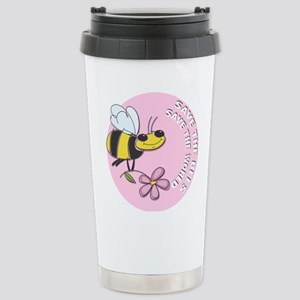 Save The Bees Stainless Steel Travel Mug