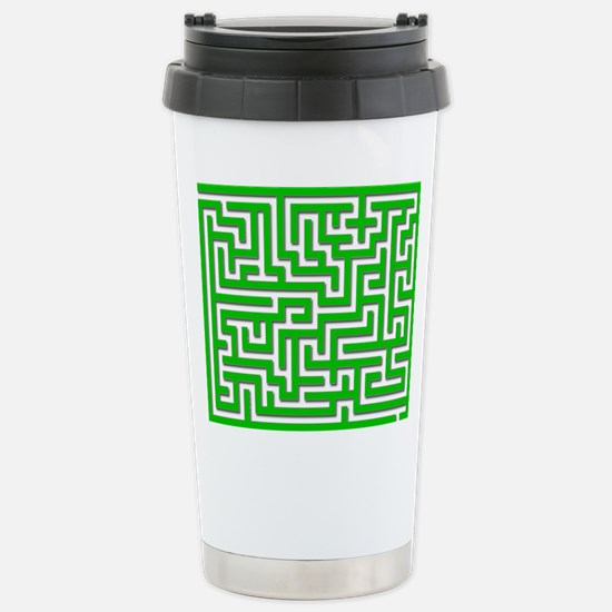 Mouse Maze Stainless Steel Travel Mug
