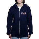 Mma Usa Women's Zip Hoodie Sweatshirt