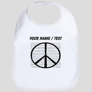 Custom World Peace Bib