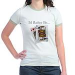 Jack King Off Jr. Ringer T-Shirt