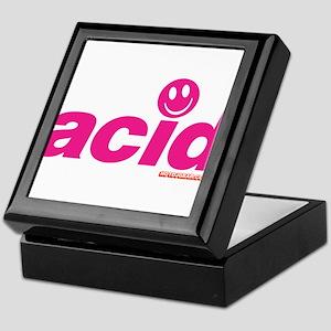 Pink Acid Keepsake Box