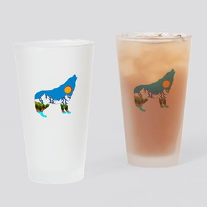 HOWL Drinking Glass