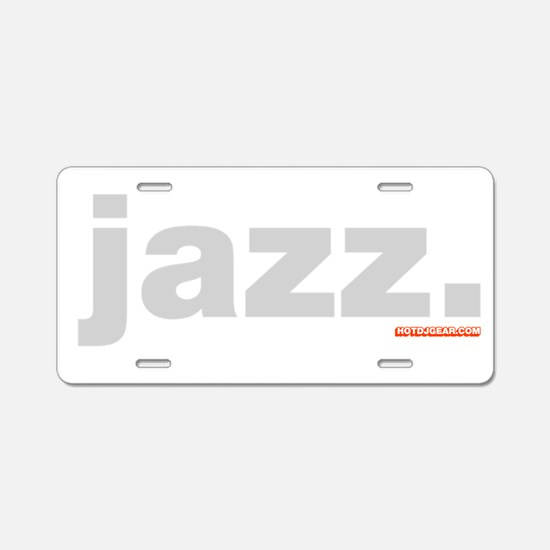Jazz. Aluminum License Plate