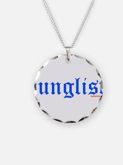 Junglist Necklace Circle Charm