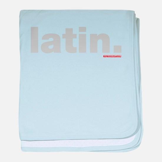 Latin. baby blanket