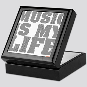 Music Is My Life Vinyl Keepsake Box