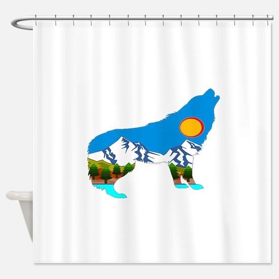 HOWL Shower Curtain