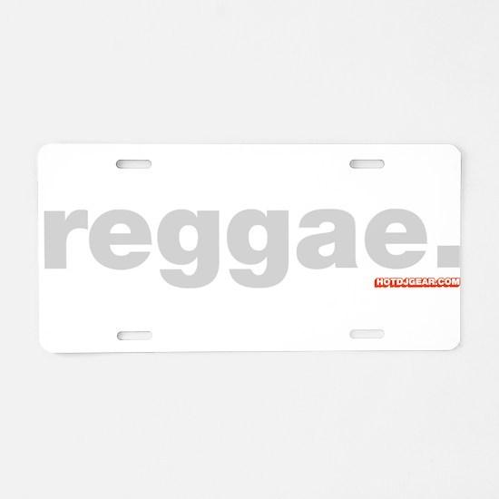 Reggae Aluminum License Plate