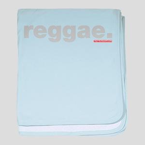 Reggae baby blanket