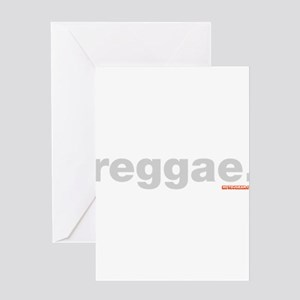 Reggae Greeting Card