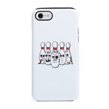 Battered Bowling Pins iPhone 7 Tough Case