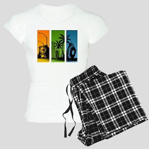 Turntable City Women's Light Pajamas
