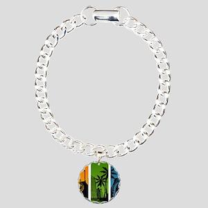Turntable City Charm Bracelet, One Charm