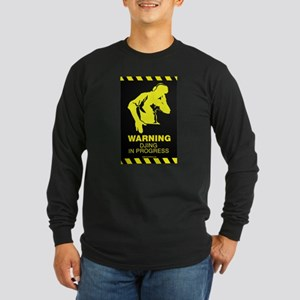 DJing In Progress Long Sleeve Dark T-Shirt