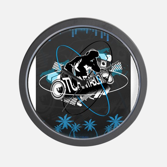 Pioneer CDJ Feel The Music Wall Clock