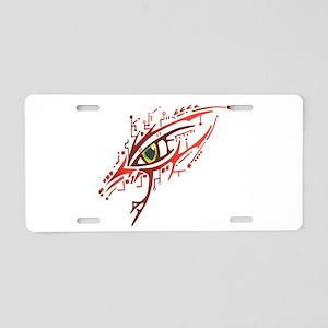 Cyber Eye Aluminum License Plate