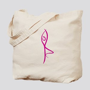 Yoga Tree Pose Tote Bag