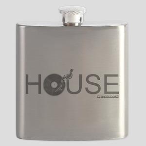 House Vinyl Flask