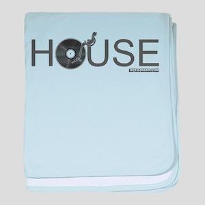 House Vinyl baby blanket