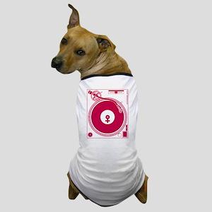 Female Turntable Dog T-Shirt